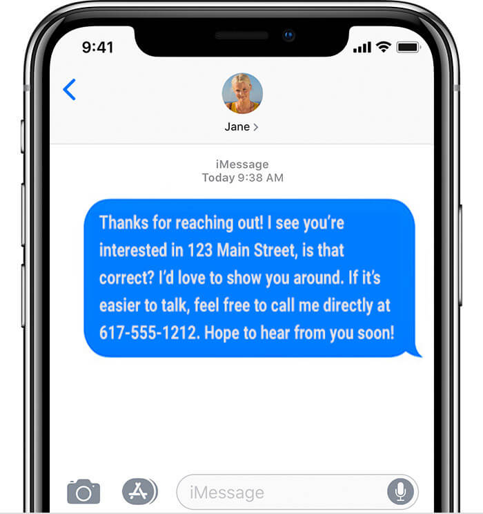 Lead response texting best practices